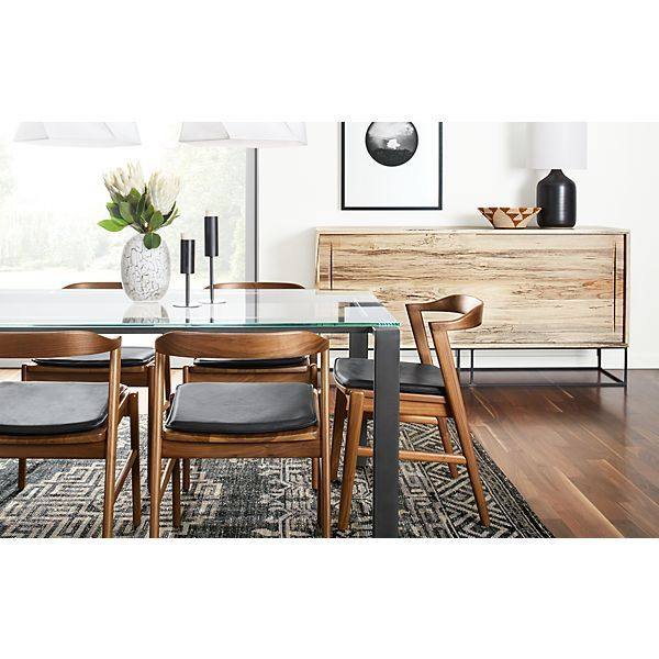Exceptional Rand Table With Jansen Chairs   Modern Dining Room Furniture   Room U0026 Board