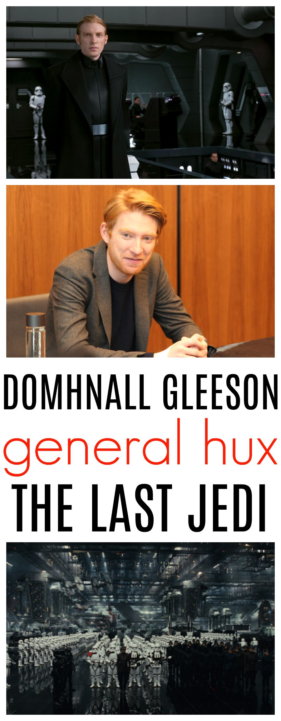 Domhnall Gleeson Interview Star Wars The Last Jedi General Hux On The Edge Raising Whasians General Hux Last Jedi Jedi General