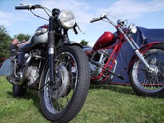 Triumph Twins- Very manly, and very sexy!