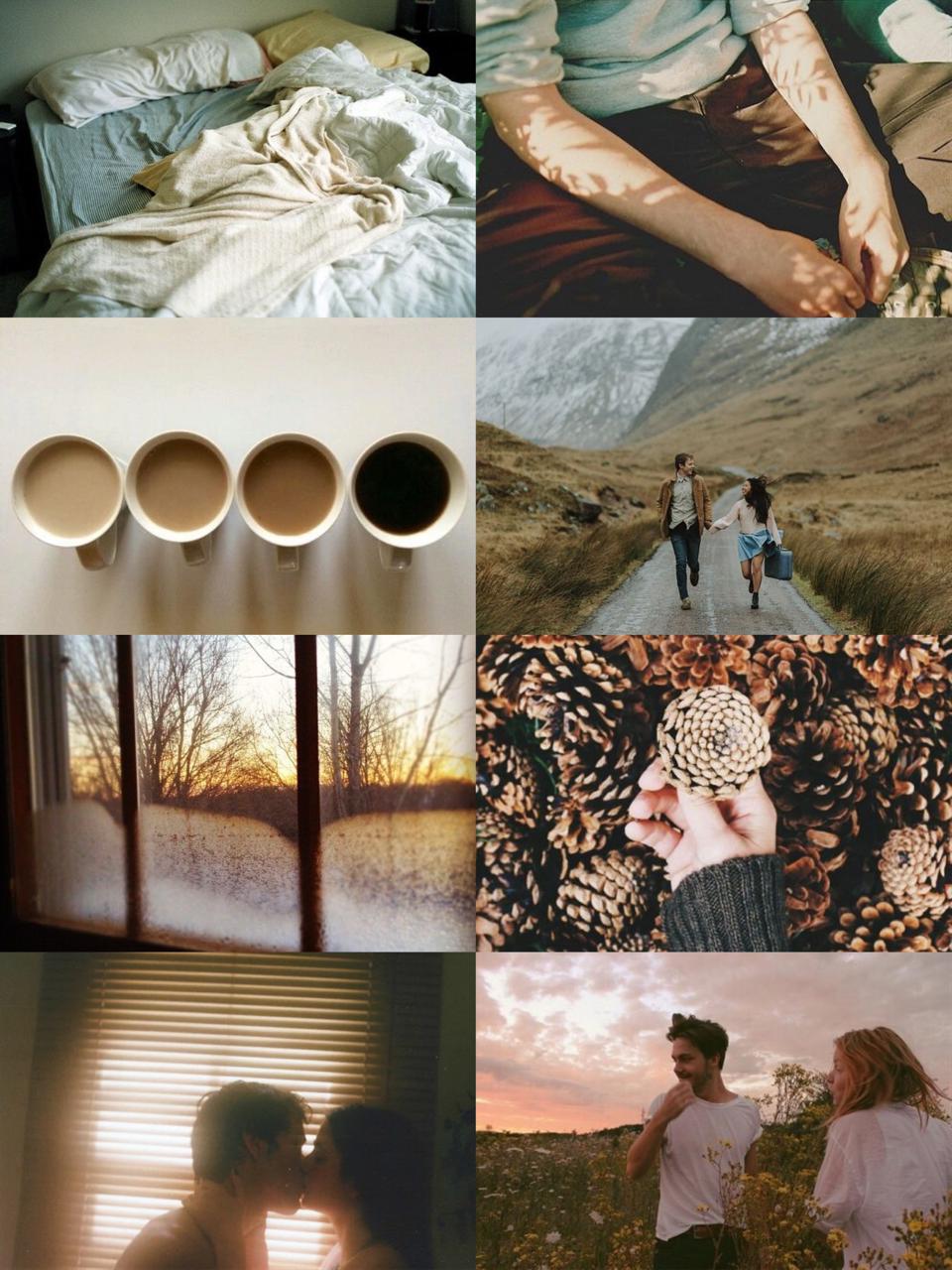 Couple aesthetic // Taurus (f) x Capricorn (m)   Aries Sun