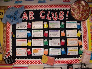 Love the ideas this teacher has for Accelerated Reader.  I know some schools have their own prizes, but if they don't... these are great!