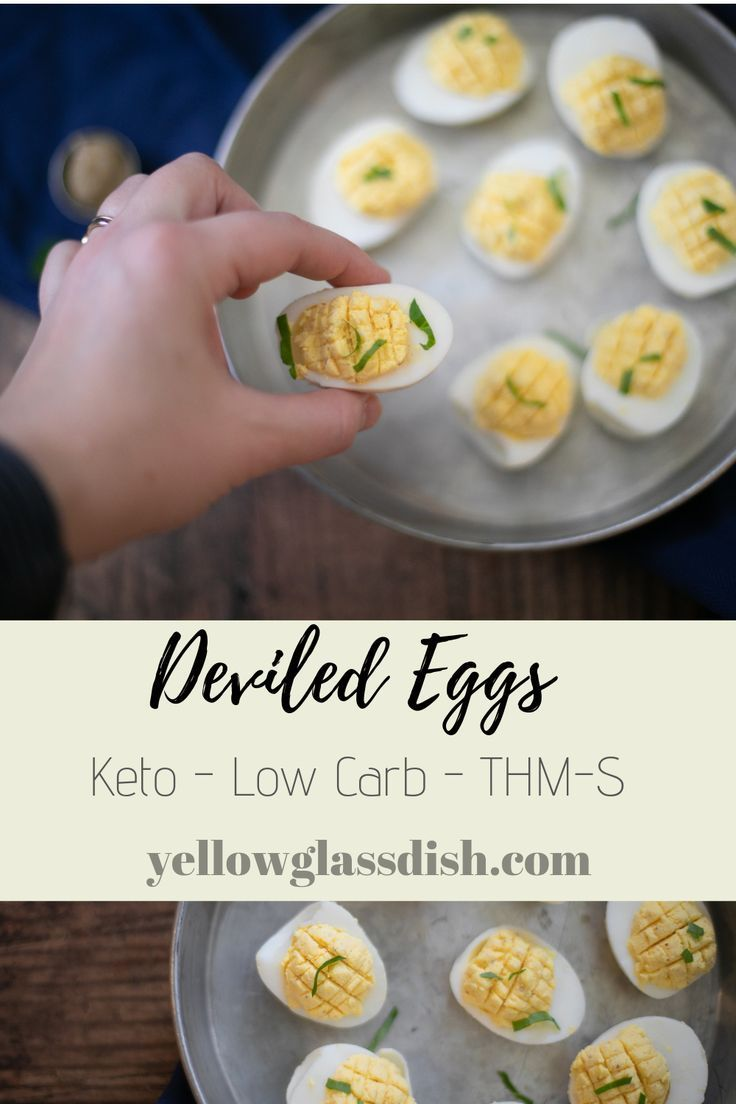 Deviled Eggs An easy keto deviled egg recipe that light and delicious! Perfect side for a brunch, lunch, snack.