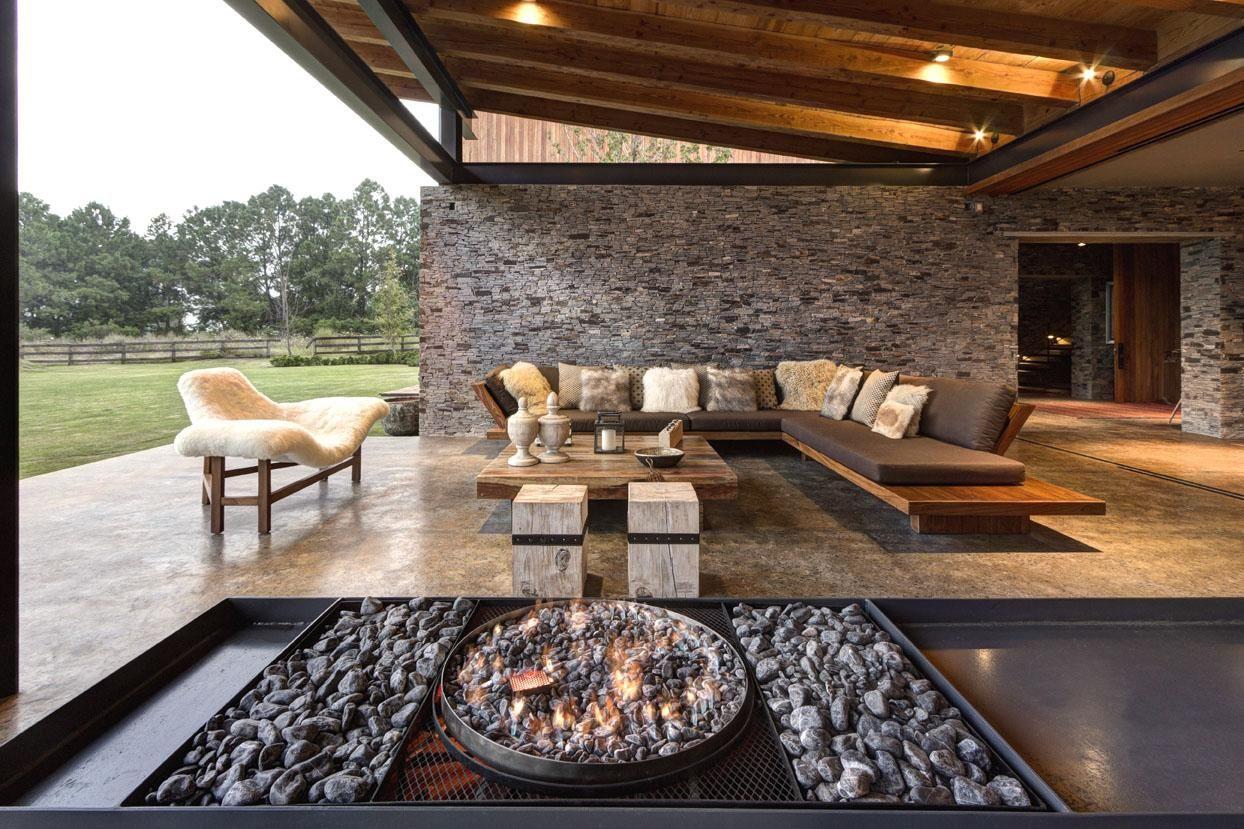 Marcos garc a terraza pinterest marcos terrazas y casas for Casa minimalista rustica