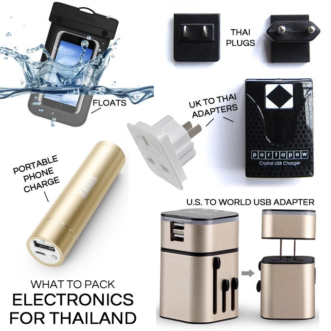 how to pack electronics for travel