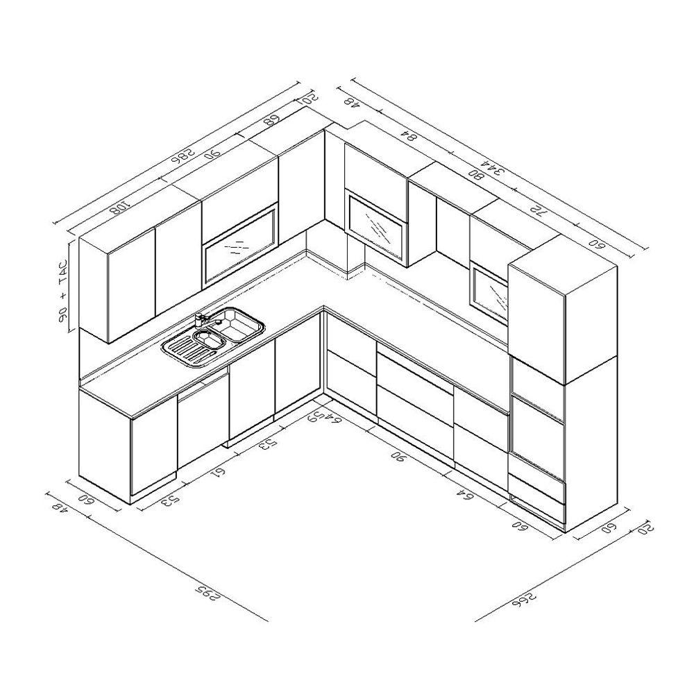 Concept Drawing Kitchen Cabinet: Iç Tasarım Mutfak, Lüks
