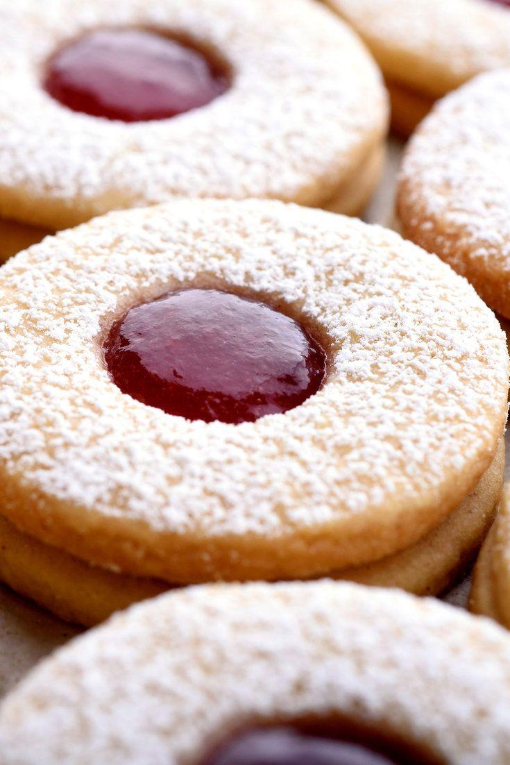 Linzer Cookies | Rezept | Bakers world | Pinterest ...
