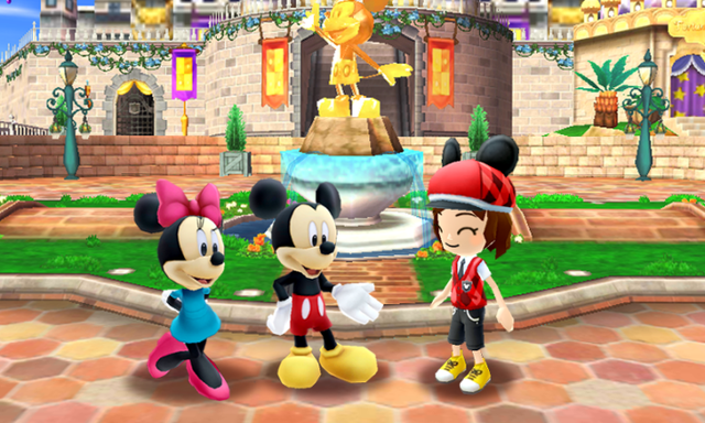 "In ""Disney Magical World,"" players will have the opportunity to choose from a variety of characters that they can customize with Disney-themed outfits and accessories. Description from dis411.net. I searched for this on bing.com/images"
