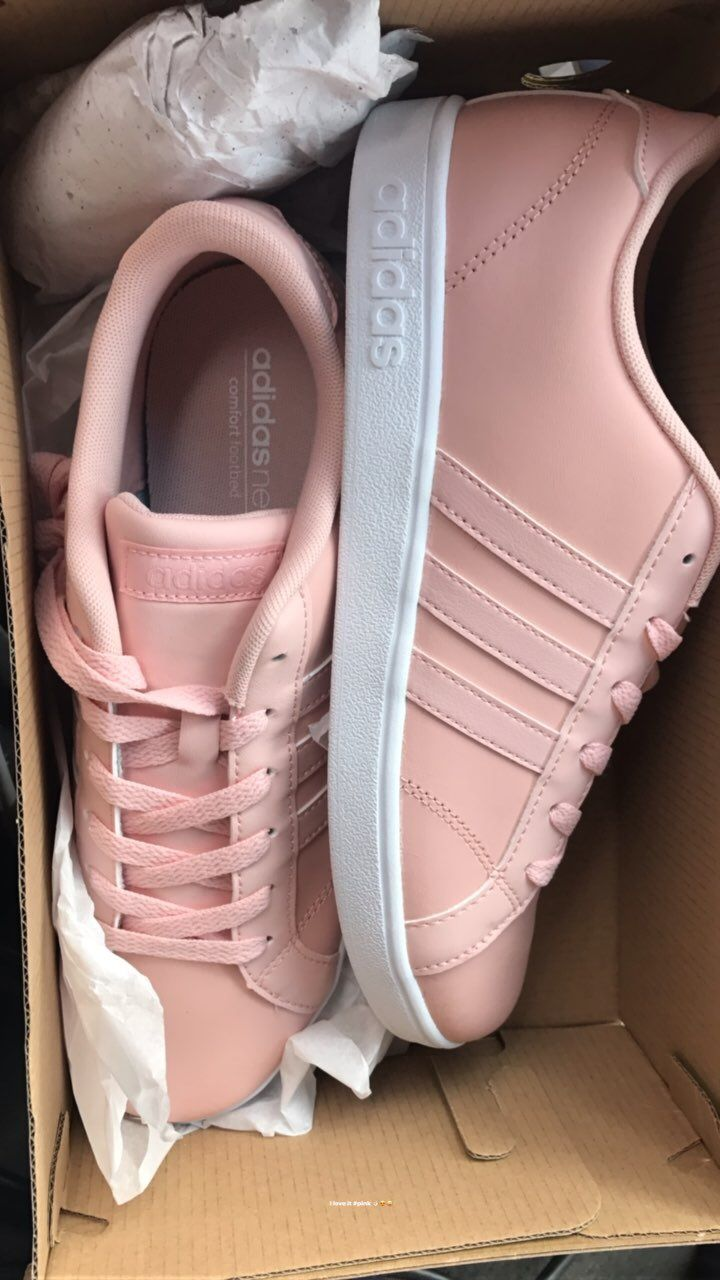 Mine !! Tennis shoes Adidas love it #pink | Sapatos adidas