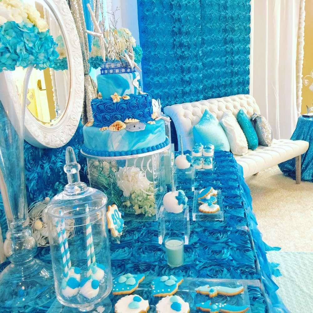 Under the Sea/Ocean Birthday Party Ideas Ocean birthday