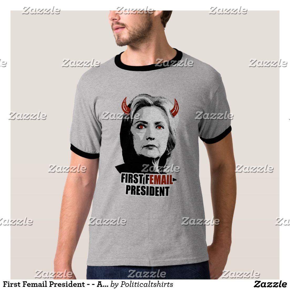 First Femail President - - Anti-Hillary -