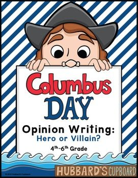 Christopher Columbus Day Unit That Discusses His History And The National Holiday Columbus Christopher Columbus Lesson Language Art Activities Essay Contests