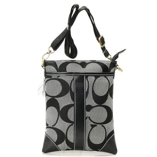 Look Here! Coach Legacy Swingpack In Signature Small Grey Crossbody Bags AVE Outlet Online