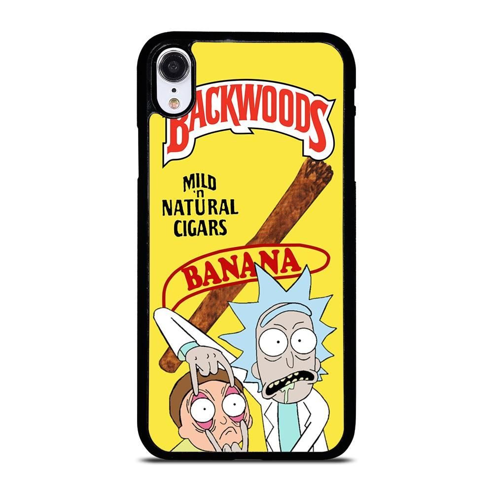 rick and morty iphone xr phone case
