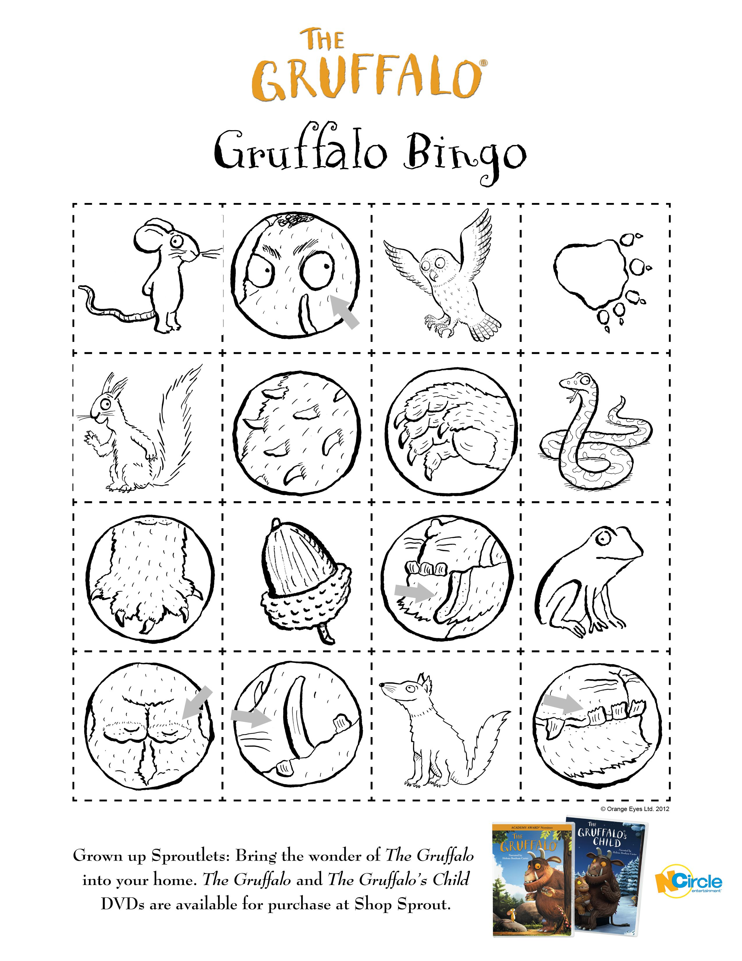 The gruffalo colouring pages to print - Explore The Gruffalo Eyfs And More