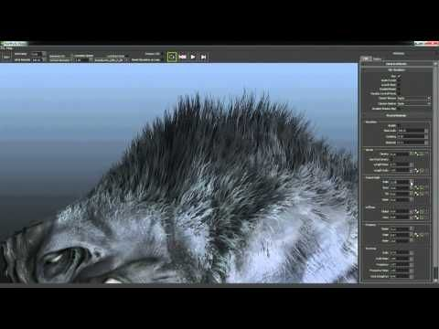 Nvidia HairWorks Tutorial - Viewer - YouTube | ZBrush Hair Tutorials