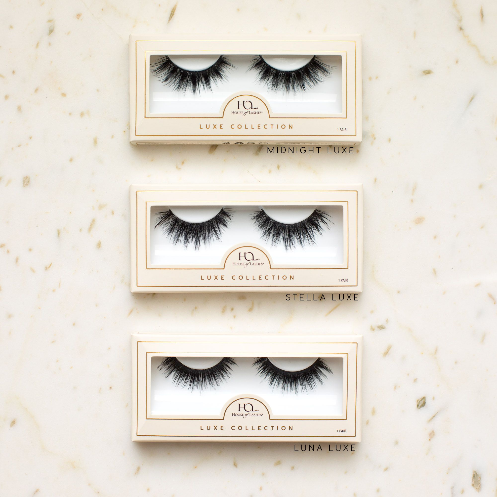 34aa3a70228 Our 3D Luxe Collection is here 🎉 With triple layers, these new lashes will  easily become your new favorites for evening affairs. Say hello to Midnight,  ...