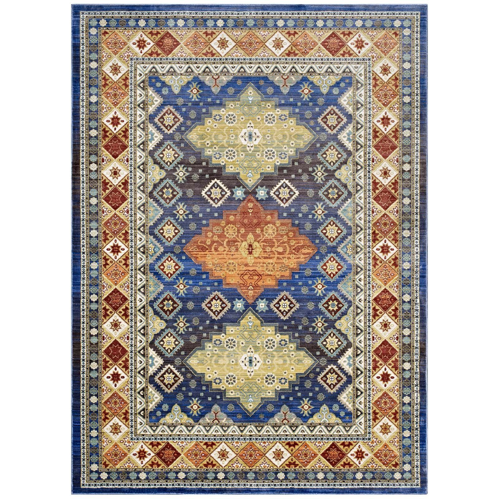 Modway Rugs On Sale R 1117a 810 Atzi Distressed Southwestern Diamond Floral 8x10 Area Rug Only Only 341 75 Floral Area Rugs 8x10 Area Rugs Area Rugs