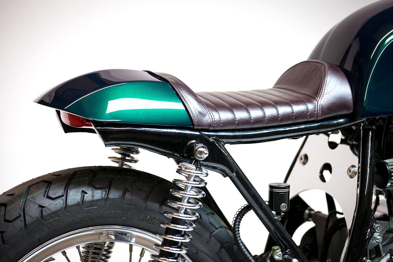 Easy Being Green Kott S Beautiful 75 Honda Cb550 Cafe Cb550 Cafe Racer Cafe Racer Honda