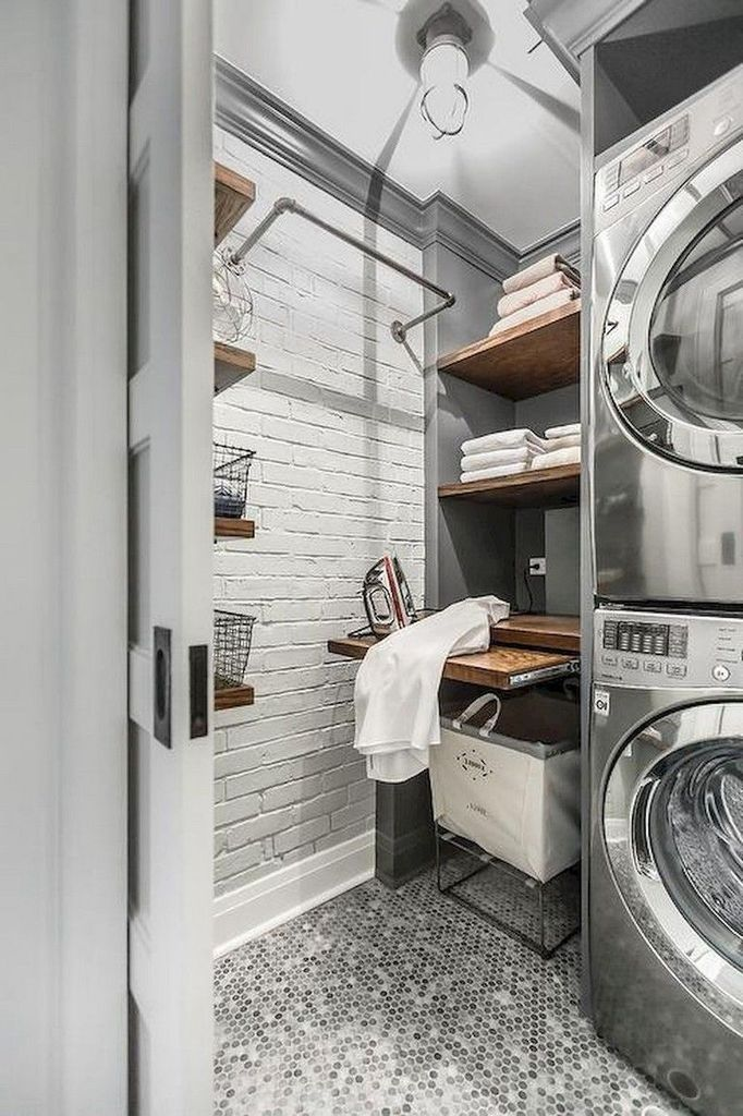 40+ Best Laundry Room Storage Organization Ideas for Small Space images