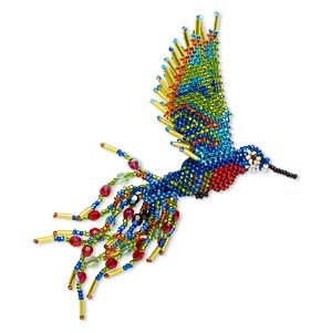 Beading Pattern For Hummingbird Multicolored 5 1 2