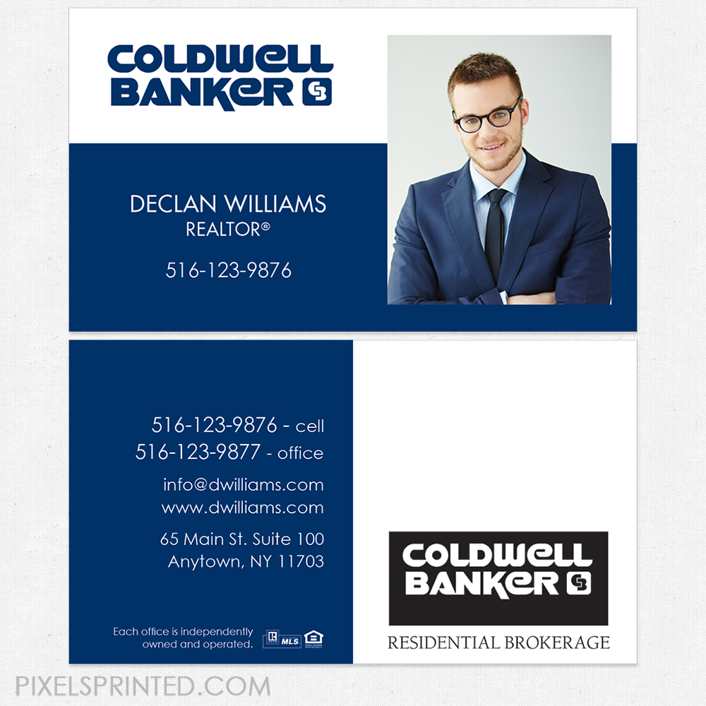 Coldwell banker business cards best business 2017 coldwell banker real estate business card template 57 wajeb Image collections