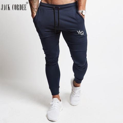 Joggingbroek Skinny.Jack Cordee Jogger Pants Men Sweatpants Streetwear Workout Skinny