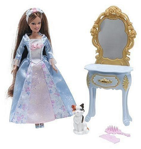 Barbie Princess Mini Kingdom Mini Barbie Erika Doll by Mattel. $23.00. From the Manufacturer                Barbie Mini Kingdom? dolls are beautiful miniature-scale versions of Barbie? doll as Rapunzel, Odette?, Anneliese? and Erika? and each one comes with an accessory inspired by her story and her iconic pet. Doll cannot stand alone. Each sold separately, sub