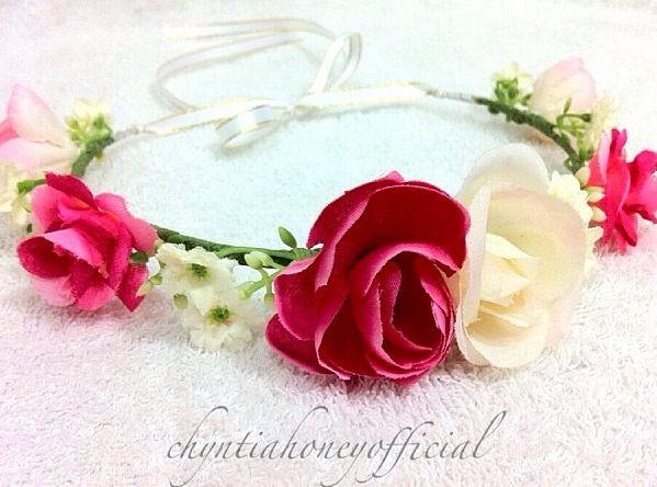 Mehndi Flower Jewelry Houston : Mehndi gajra corsage wedding decors pinterest