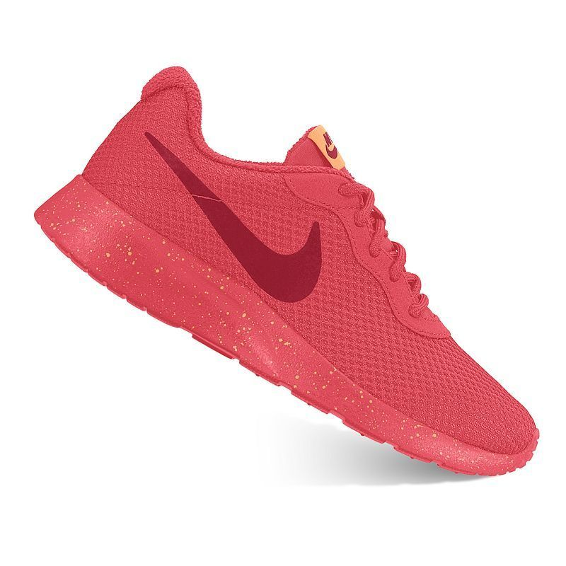 Wedding Shoes Zippay: Nike Tanjun Womens Athletic Shoes, Size: 10.5, Orange