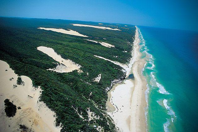 ستات كوم أجمل ستة شواطئ في العالم Fraser Island Fraser Island Australia Sand Island