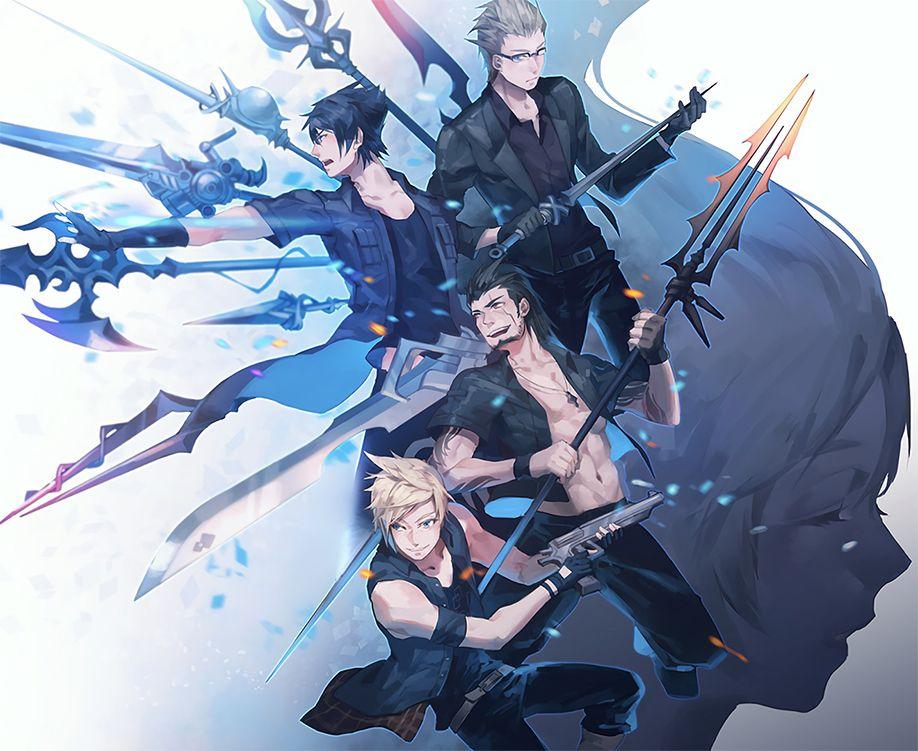 Final Fantasy Xv 1920x1080 Wallpaper Final Fantasy Artwork