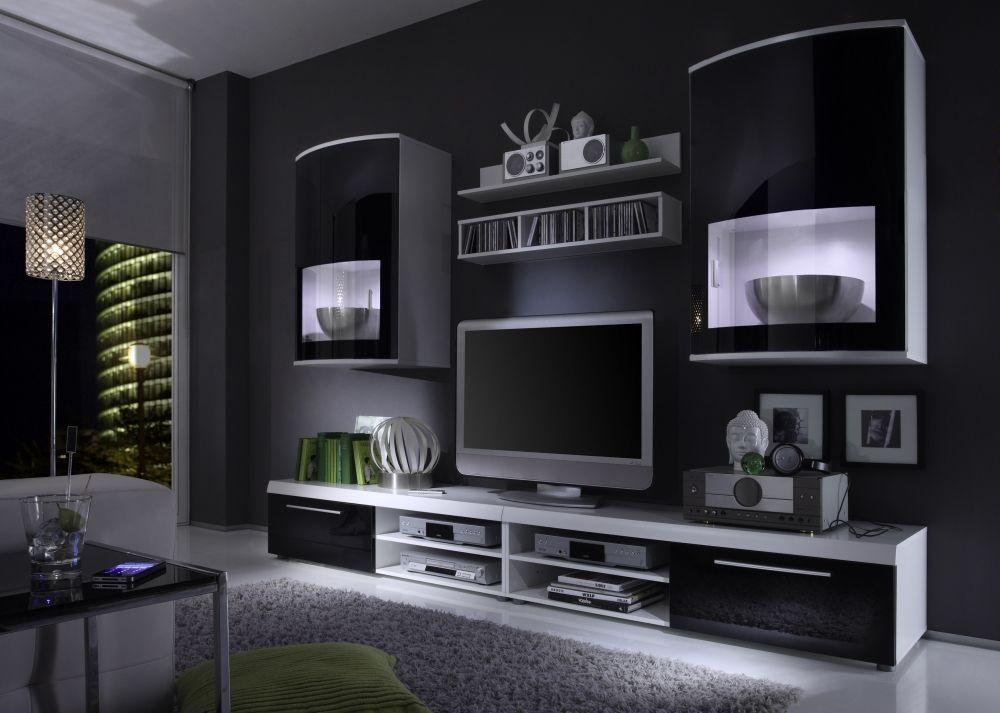 wohnen wohnzimmer tv