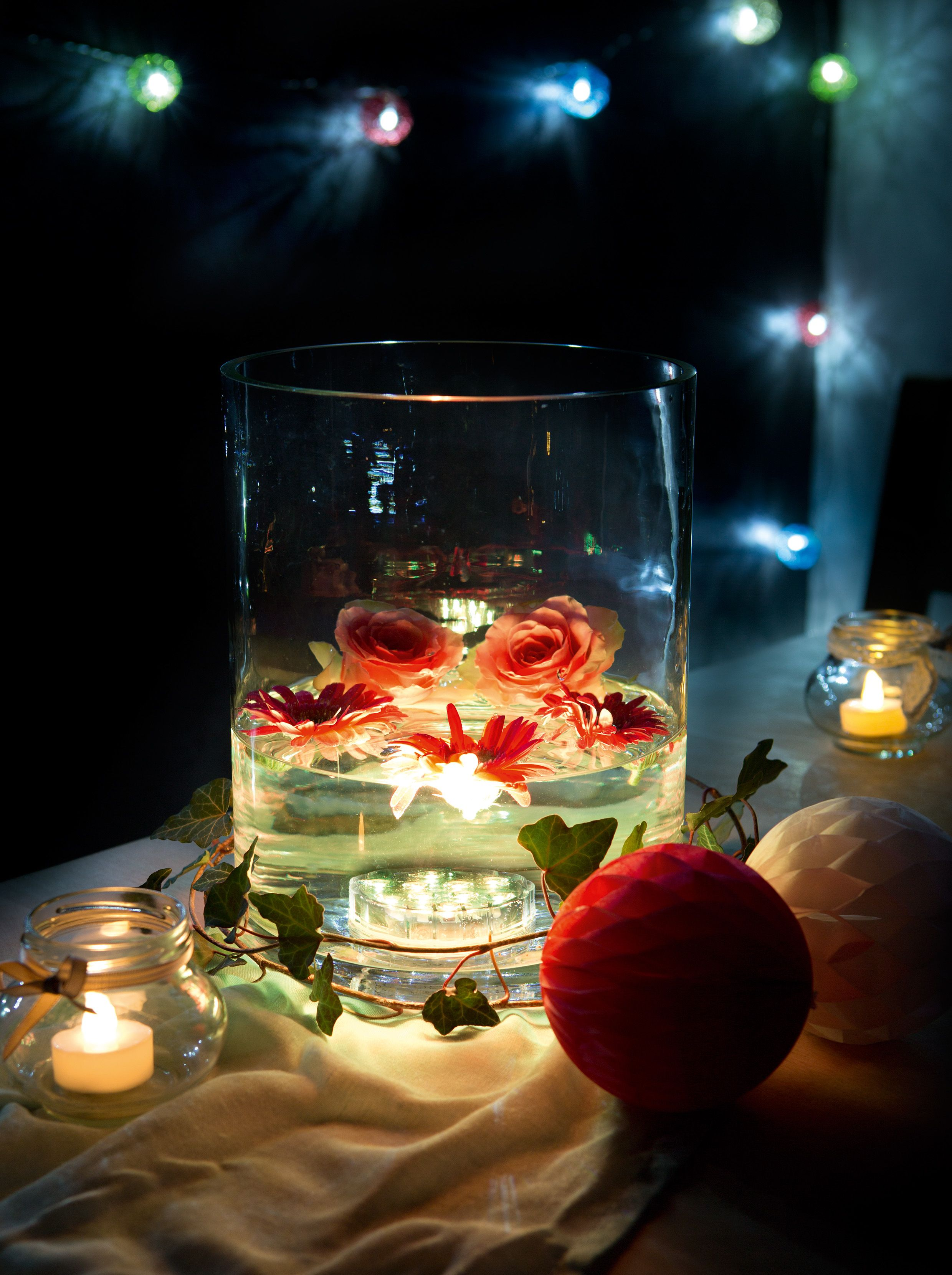 Die Hellum Led Unterwasser Deko Beleuchtung Glanzt Mit 21 Stimmungsvollen Farben Fur Jede Stimmung Das Richtige Licht D Weihnachtsdeko Beleuchtung Led Deko