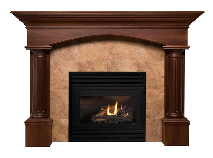 Fireplace mantels tuscan fireplace mantel designs by for Fire place mantel ideas