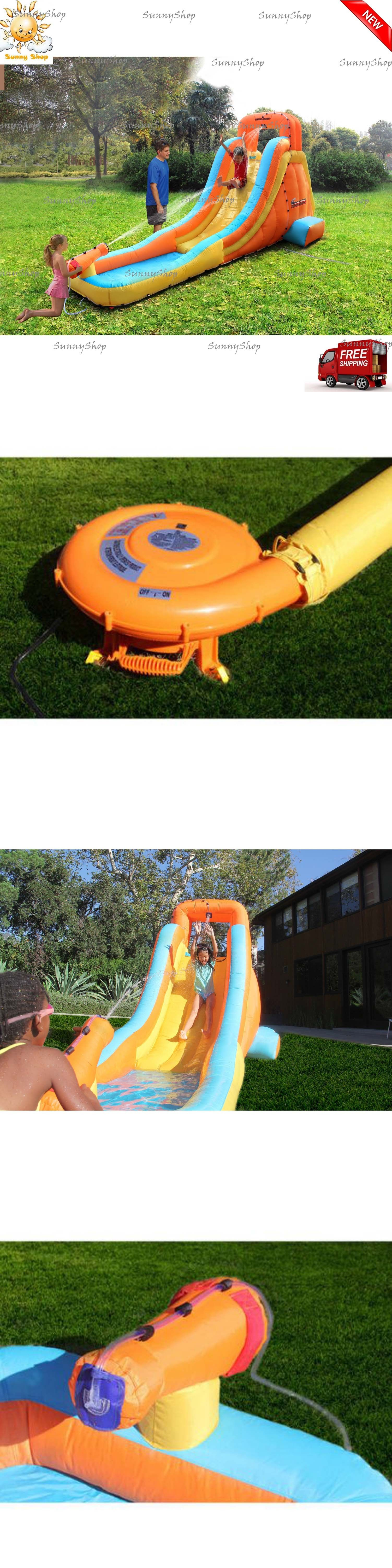 water slides 145992 inflatable water slide water cannon outdoor