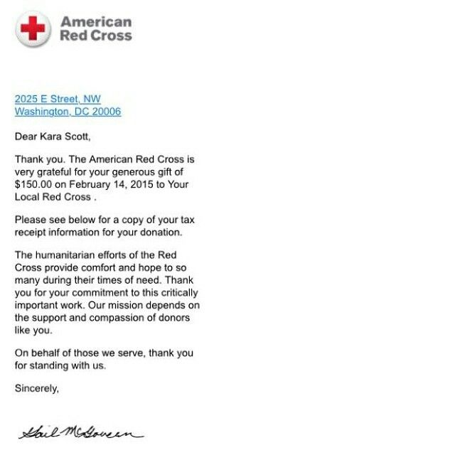 Proof Of Donation From The Modified Dolls Illinois Chapter To American Red Cross Modifieddolls IllinoisDolls Supporting Charities Fundraising
