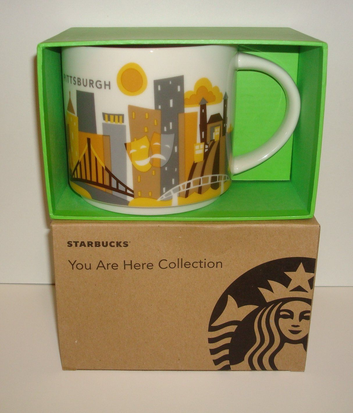 Starbucks Pittsburgh Collection Mug