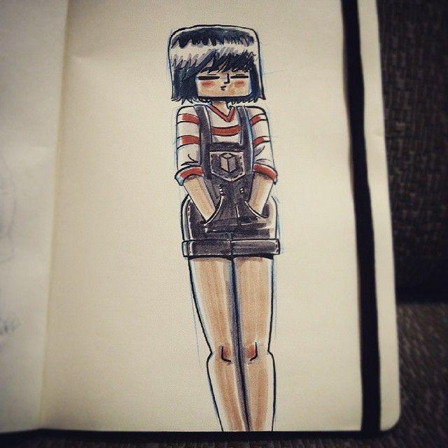 #sketchbook #tombow #characterdesign