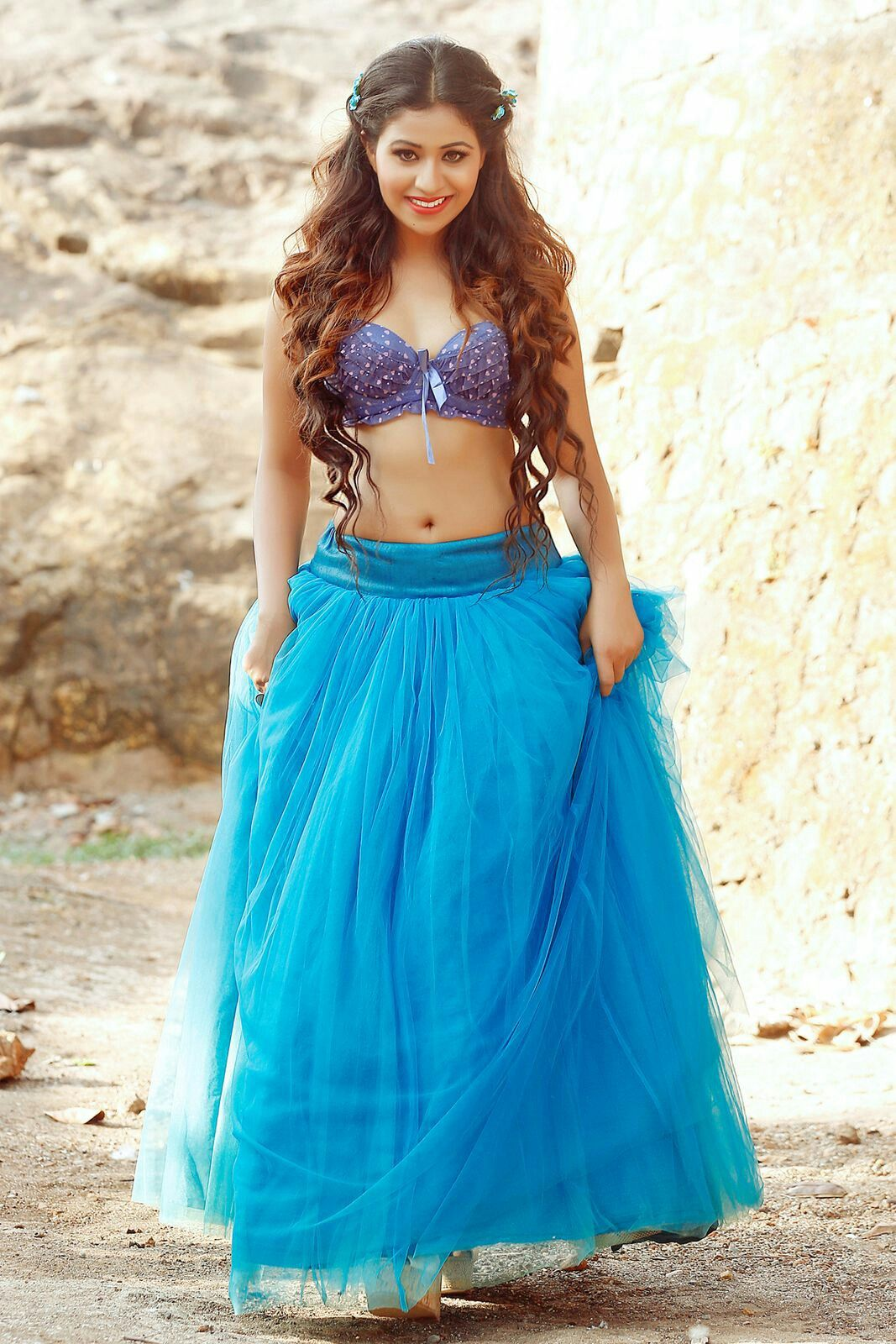 Manali rathod | Navel show | Pinterest | Navel, Exotic beauties and ...