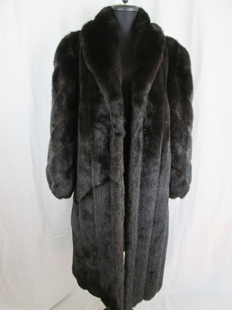 d2434c1b91 Boulevard East Brown Faux Fur Coat LONG Women's Full Length Jacket  #BouevardEast #BasicCoat