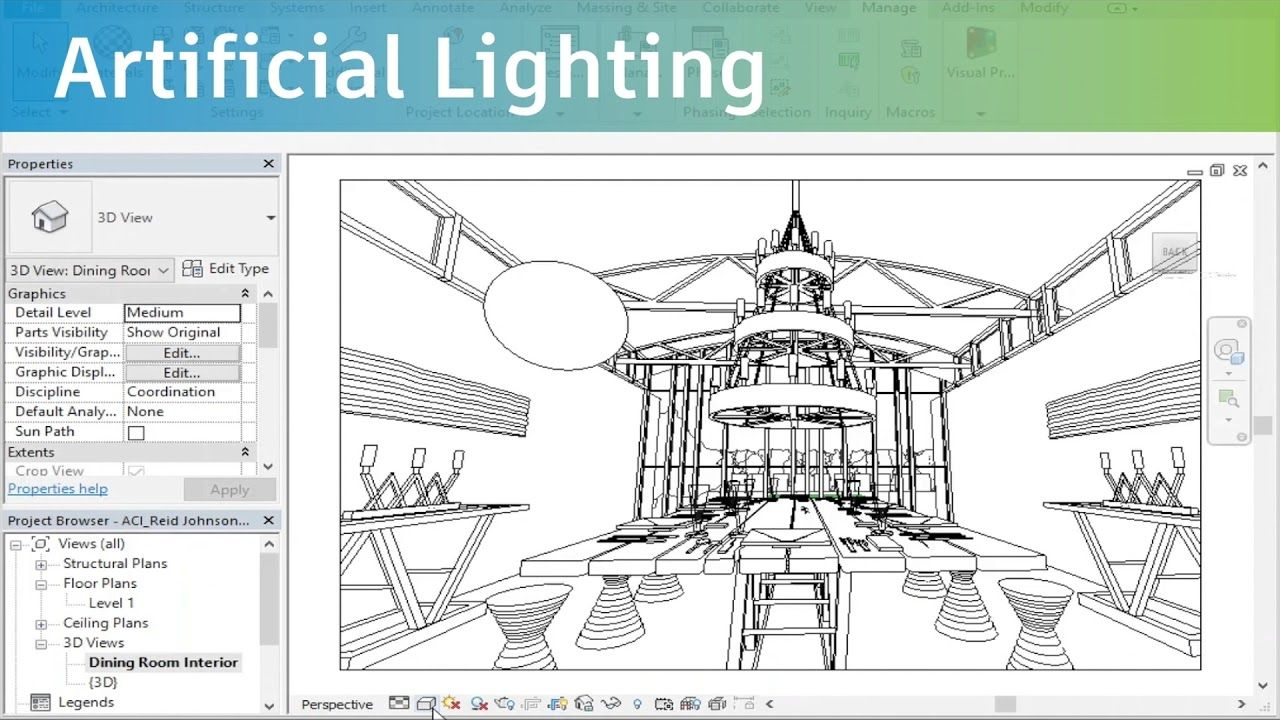Learn How To Render Your 3d Design Under 5 Minutes With Revit 3d Design Design Learning