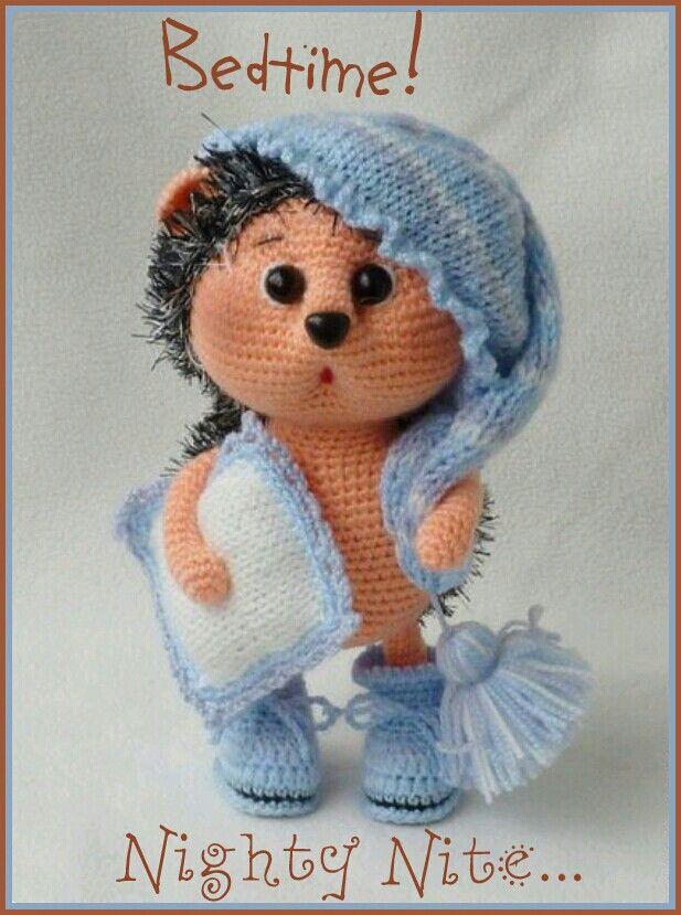 Good Night | craft ideas | Pinterest | Patrones amigurumi, Juguetes ...