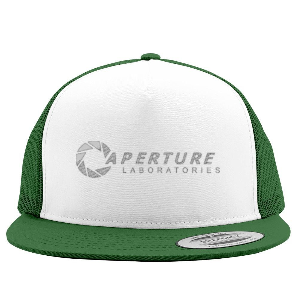 Aperture Science Labs Embroidered Trucker Hat