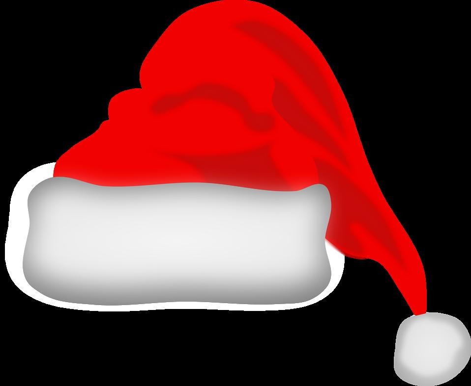 christmas santa hat clip art clip art christmas 1 clipart rh pinterest com santa claus hat clipart free Black Santa Claus