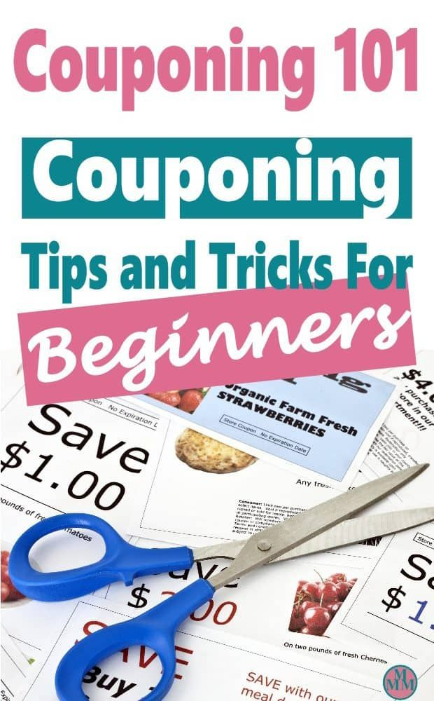 Couponing Tips & Tricks For Beginners + Advanced Coupon Strategies #couponing
