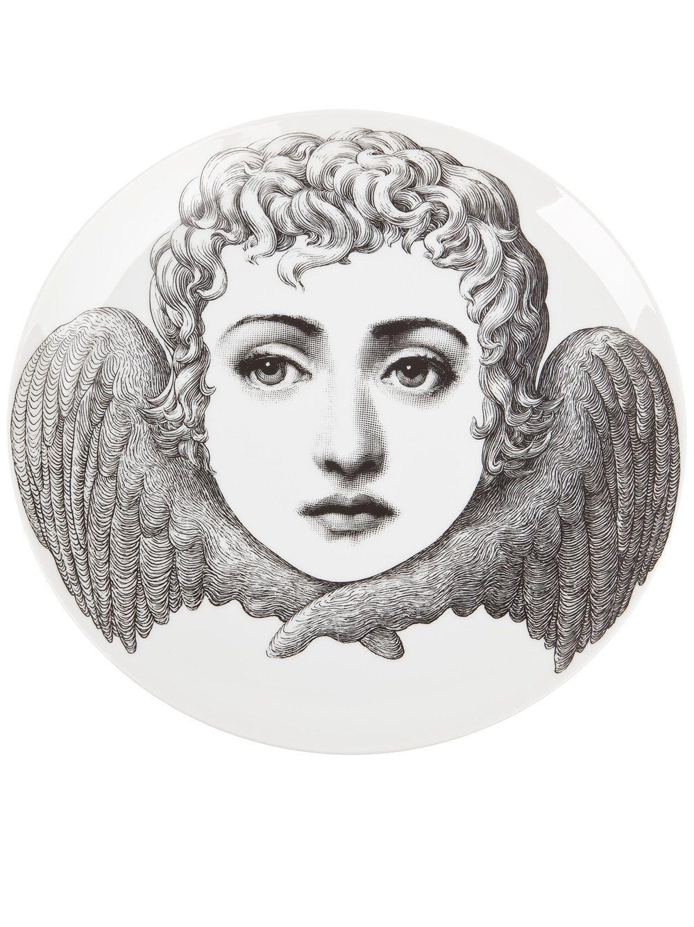 Fornasetti angel face plate.