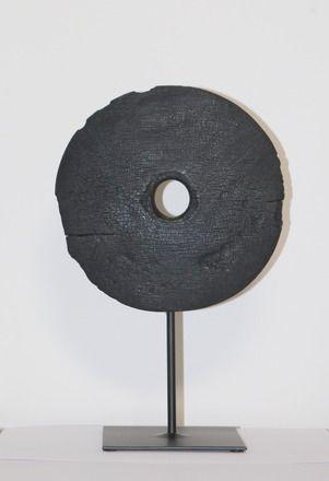 sculpture bois cercle brul au chalumeau sculptures gravures statues par kasab sculpture. Black Bedroom Furniture Sets. Home Design Ideas