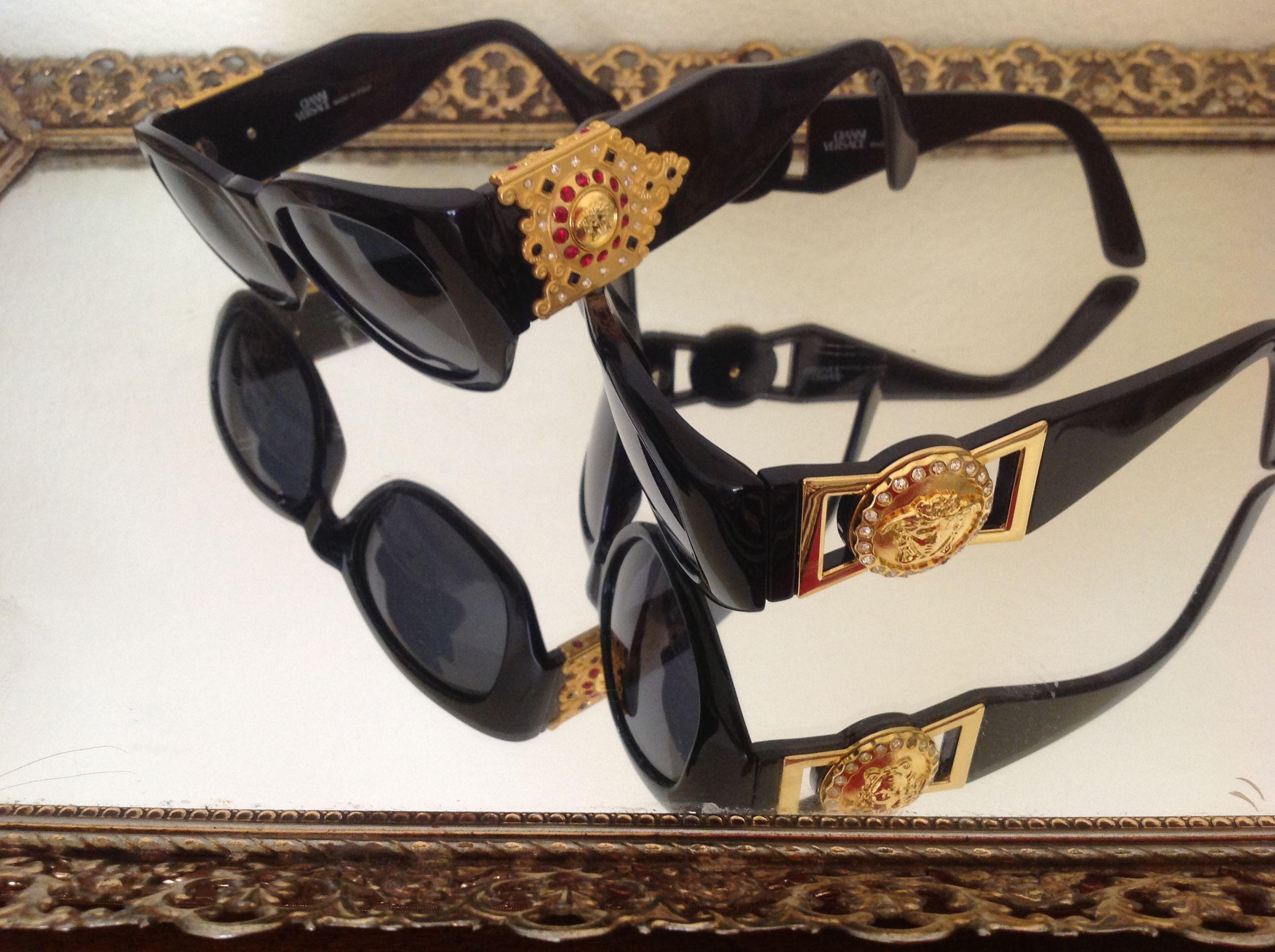 9bb09be117 My old-school Versace sunglasses