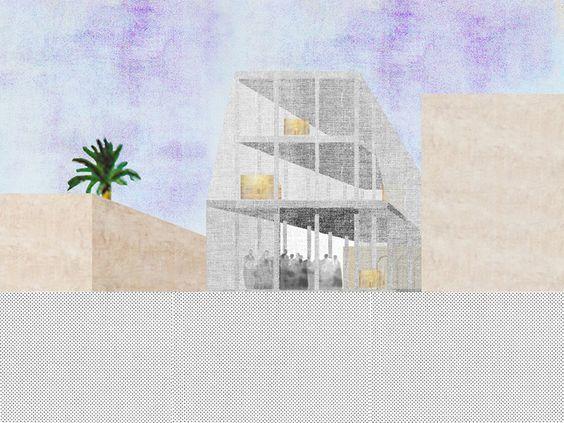 Galería de 12 oficinas que representan atmósferas arquitectónicas usando collage - 23
