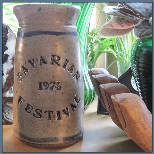 Bavarian Festival 1976 Stoneware Pottery | PattyAnn - Ceramics & Pottery on ArtFire